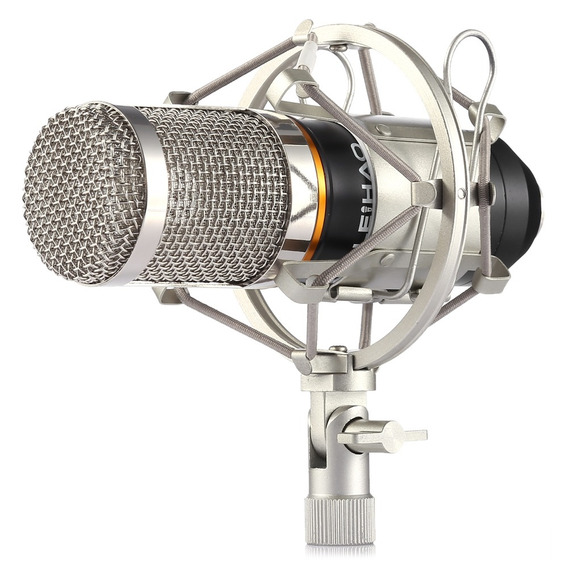 Leihao Bm -800 Condensador Microfone Gravação Som E Monte Ch