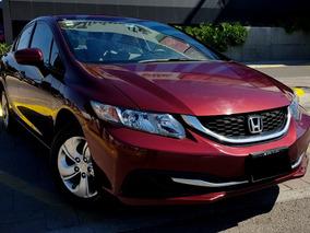 Honda Civic 1.8 Lx Sedan L4 Man. Mt 2014