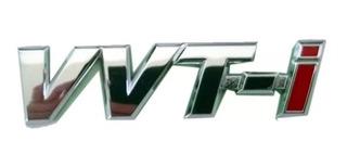 Insignia Emblema Vvti Toyota Hilux Nafta 2.7 2005-2015 Leg