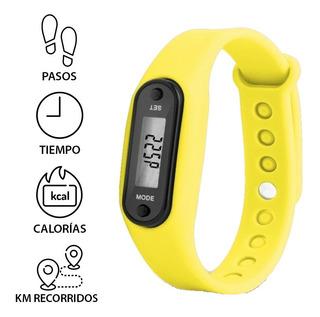 Reloj Podómetro Digital Cuenta Pasos, Calorias Variedad