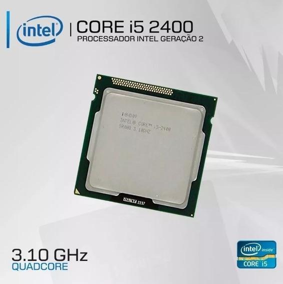Processador Intel I5-2400 + Cooler Intel + Pasta Termica S/j