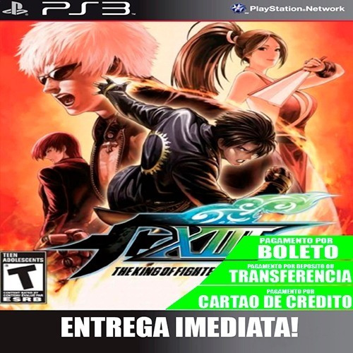 The King Of Fighters 13 - Ps3 - Midia Digital