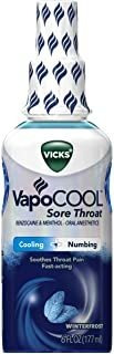 Vicks Vapocool Spray Para El Dolor De Garganta, Alivia El Do