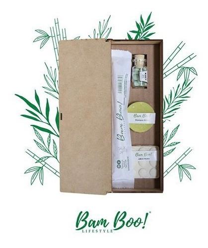Imagen 1 de 4 de Kit Higiene Natural Bam Boo! Lifestyle®