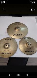 Platillos Alesis Surge Set