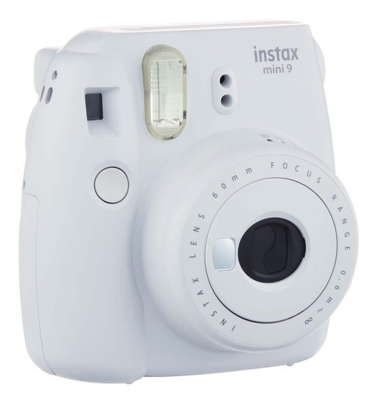 Câmera Instantânea Fuji Instax Mini 9 Branco Gelo Com Nf
