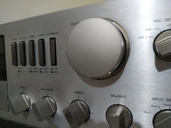 Gradiente Amplificador 246 Impecável.