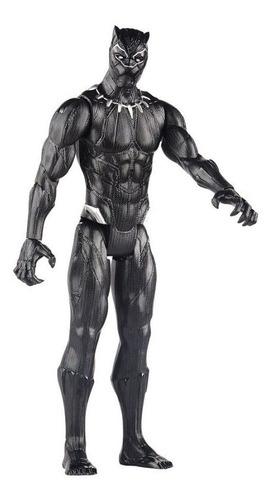 Imagen 1 de 3 de Figura Avengers Titan Hero 12 In Pantera Negra E7876