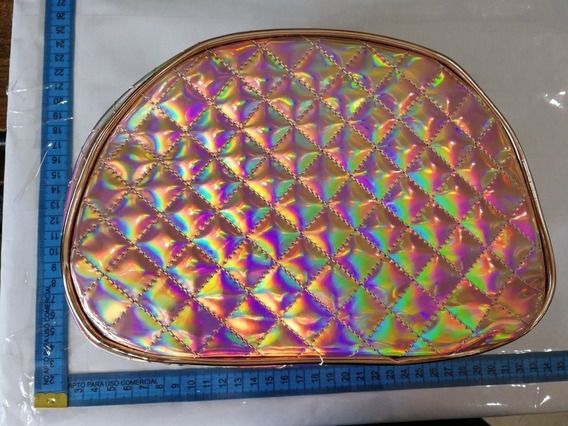 Porta Cosméticos Holográfico