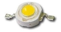 Led 3w Alto Brillo Cob Blanco Frio Barra Carro 10 Piezas