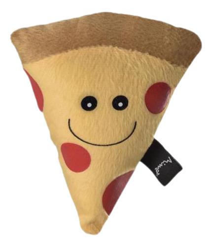 Brinquedo Foodies Pelucia Pizza Peperoni Para Gatos - Pp154