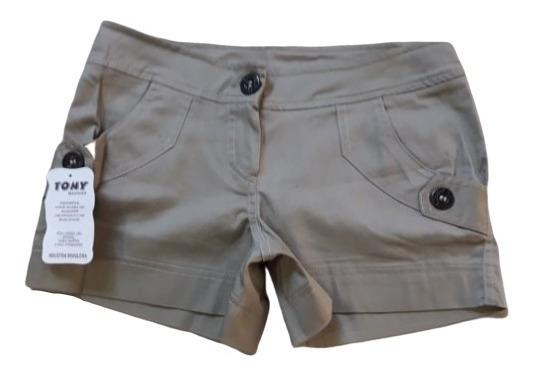 Queima De Estoque Shorts Alfaiataria Feminino Tam. P Ao Gg