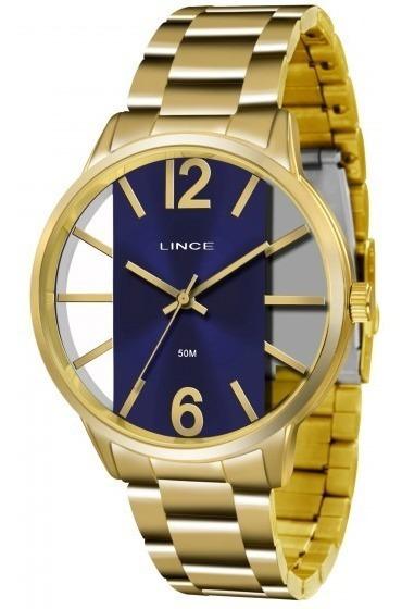 Relógio Lince Lrg608l D2kx Urban Feminino Redondo- Refinado