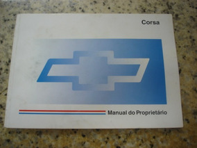 Manual Do Proprietário Corsa 1997 93245590 Novo