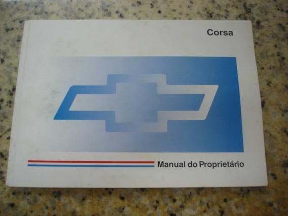 Manual Do Proprietário Corsa 1997 93245590 Novo