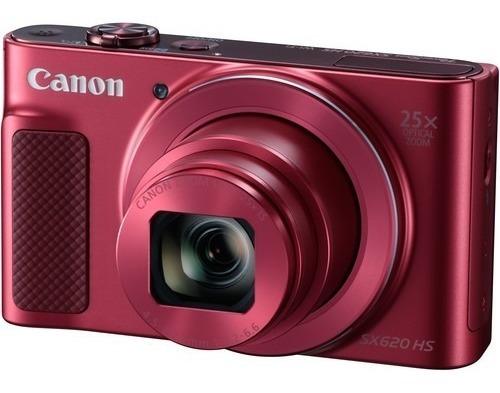 Câmera Canon Powershot Sx620 Hs Vermelha Sx620hs