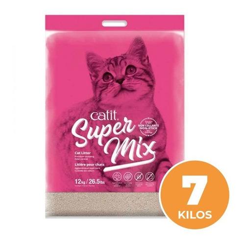 Catit Super Mix 7kg - Arena Sanitaria Premium Aglomerante