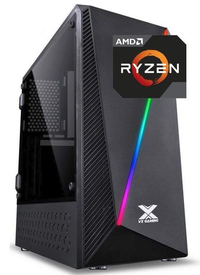 Kit Pyxis Ryzen 7 2700 B450m G 2x 8gb 2666mhz Vs600 Bx120gb