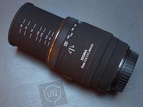 Imagem 1 de 4 de 30% Off Lente Canon Ef Sigma 70mm F2.8 Dg Ex Macro 1:1