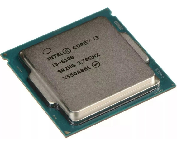 Processador Intel I3 6100 3.7ghz Lga 1151-oem