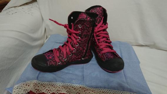 Zapatillas De Nena Tipo Botas Monster High