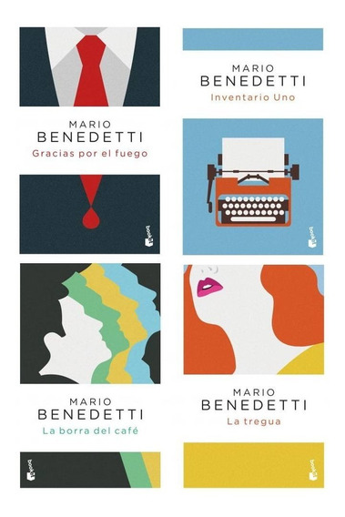 Pack Mario Benedetti - La Tregua + Inventario Uno + 2 Libros