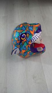 Máscara De Jaguar Alebrije Oaxaca