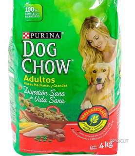 Perrarina Dog Chow Adultos 4kg Ofertazo 950 Mil Bs.