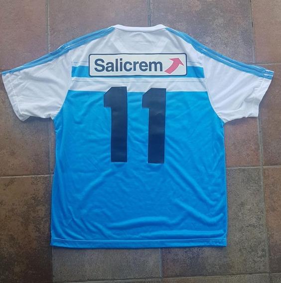 Camiseta Racing Club Salicrem Retro Talle L # 11 Cuero