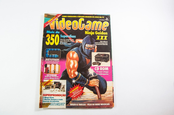 Revistas Videogame, Ano 1, N. 6, Agosto, 1991
