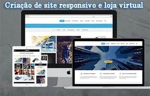 Imagem 1 de 1 de Criação De Site E Loja Virtual.
