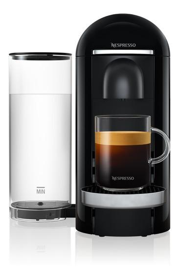Cafetera Nespresso Vertuo Plus Color Negra