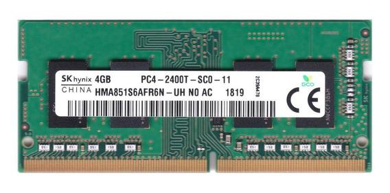 Memória RAM 4GB 1x4GB SK hynix HMA851S6AFR6N-UH