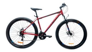 Tec-jb Deportes - Bicicleta Rio 29 H Alloy Rojo Metálico Ma