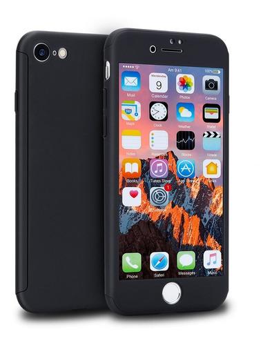 Carcasa Protector Full 360 + Vidrio Templado iPhone 7