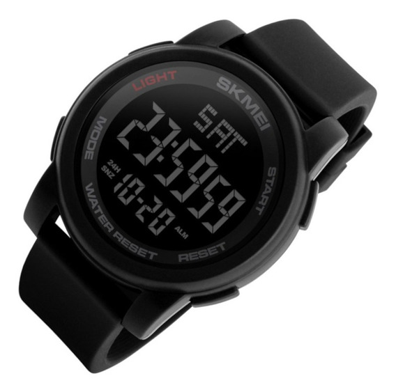 Relógio Masculino Skmei 1257 Dig Led Preto Sport