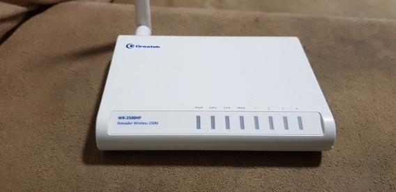 Ap Roteador Wireless Greatek Wr-2500n 700 Mw 150 Mbps 5 Dbi