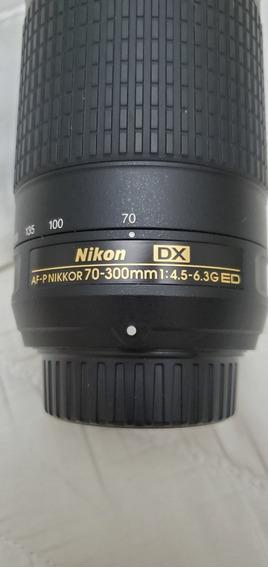 Nikon Lente Nikkor 70-300mm F/4.5-6.3g Ed Fx