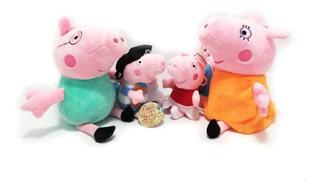 Peppa Pig Peluches Coleccion Por 4 Pepa