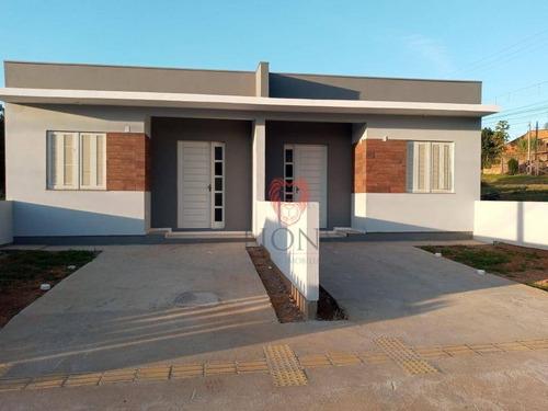 Imagem 1 de 14 de Casa Com 2 Dormitórios À Venda, 47 M² Por R$ 167.000,00 - Nossa Chácara - Gravataí/rs - Ca1341