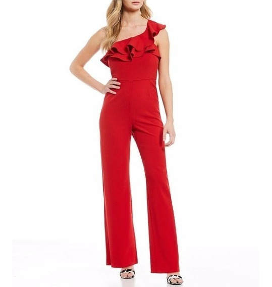 Gianni Bini Red Drew Jumpsuit
