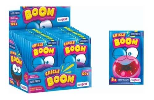 Chicle Boom Display C/24 Un 5g