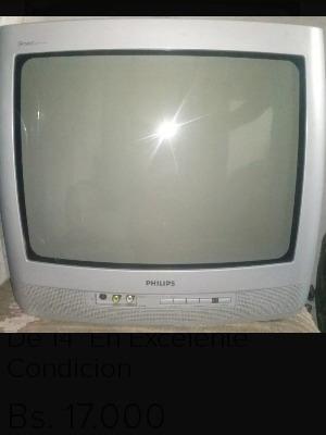Televisor Philips 14 Gris