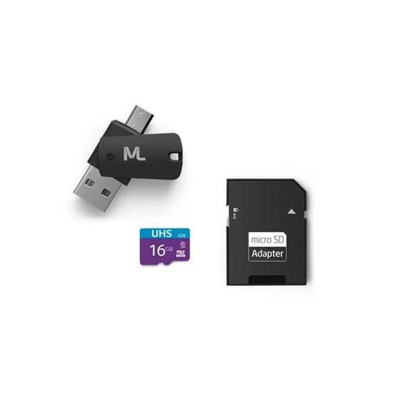 Cartao De Memoria Ultra High Speed-i 16gb Com Otg Mc150