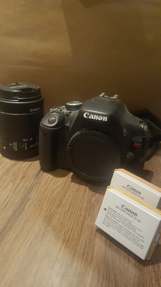 Câmera Dslr T3i + Lente 18-55mm + 2 Baterias C/ Carregador