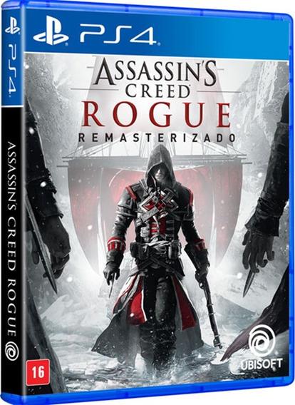 Jogo Assassins Creed Rogue Ps4 Midia Fisica Lacrado Nacional