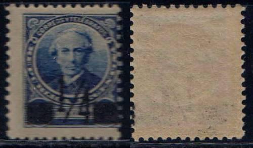 Argentina 1890 Sello Mello N° 91 Al Mint Sobrecarga Negra