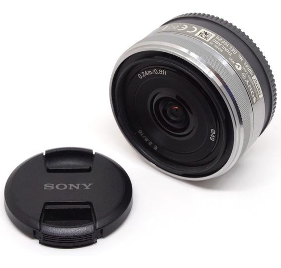 Lente Sony E 16mm F 2.8 E-mount Alpha 6000 6300 6500