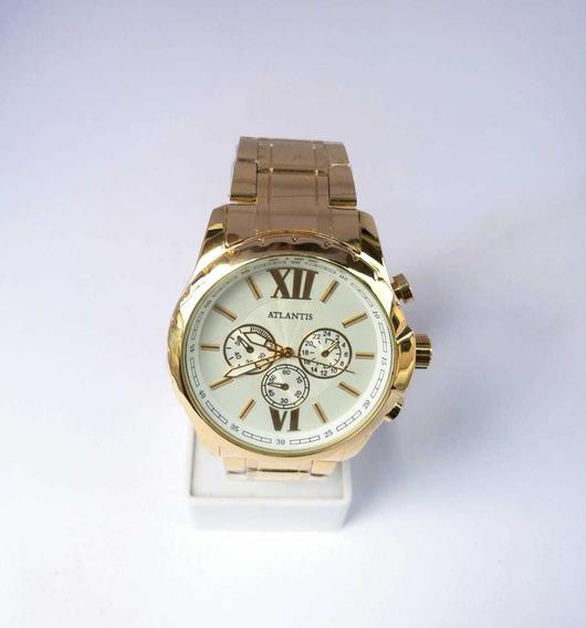 Relógio Feminino Dourado Atlantis Lancamento