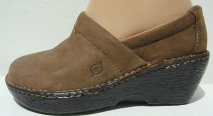 Born Zapatos Plataforma 36 Cuero Nobuk Marron (ana.mar)